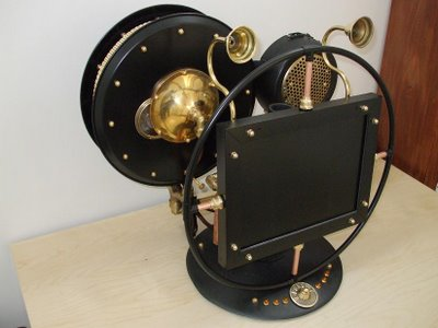 monitor steampunk