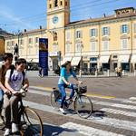 Cycling around Parma, Italy