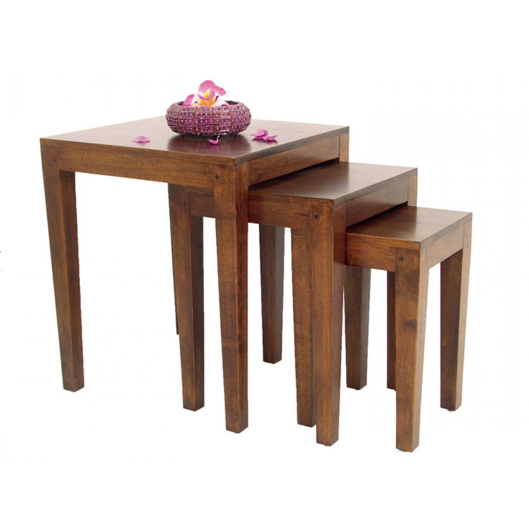 Tables Gigognes Set De 3 Tables Gigognes Moken