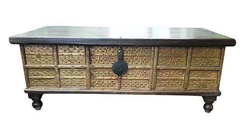 Indian Chest from Chairish
