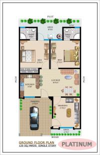 BUAT TESTING DOANG: Floor Plan For Bungalow Double Storey