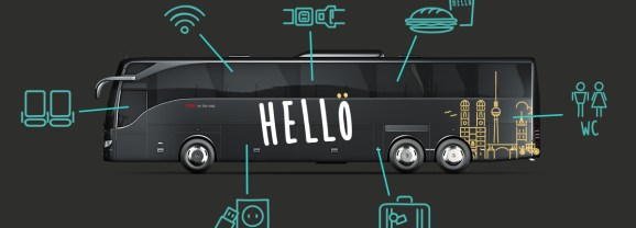 Free Europe Bus Travel (Yes Free!) with Hello Bus!