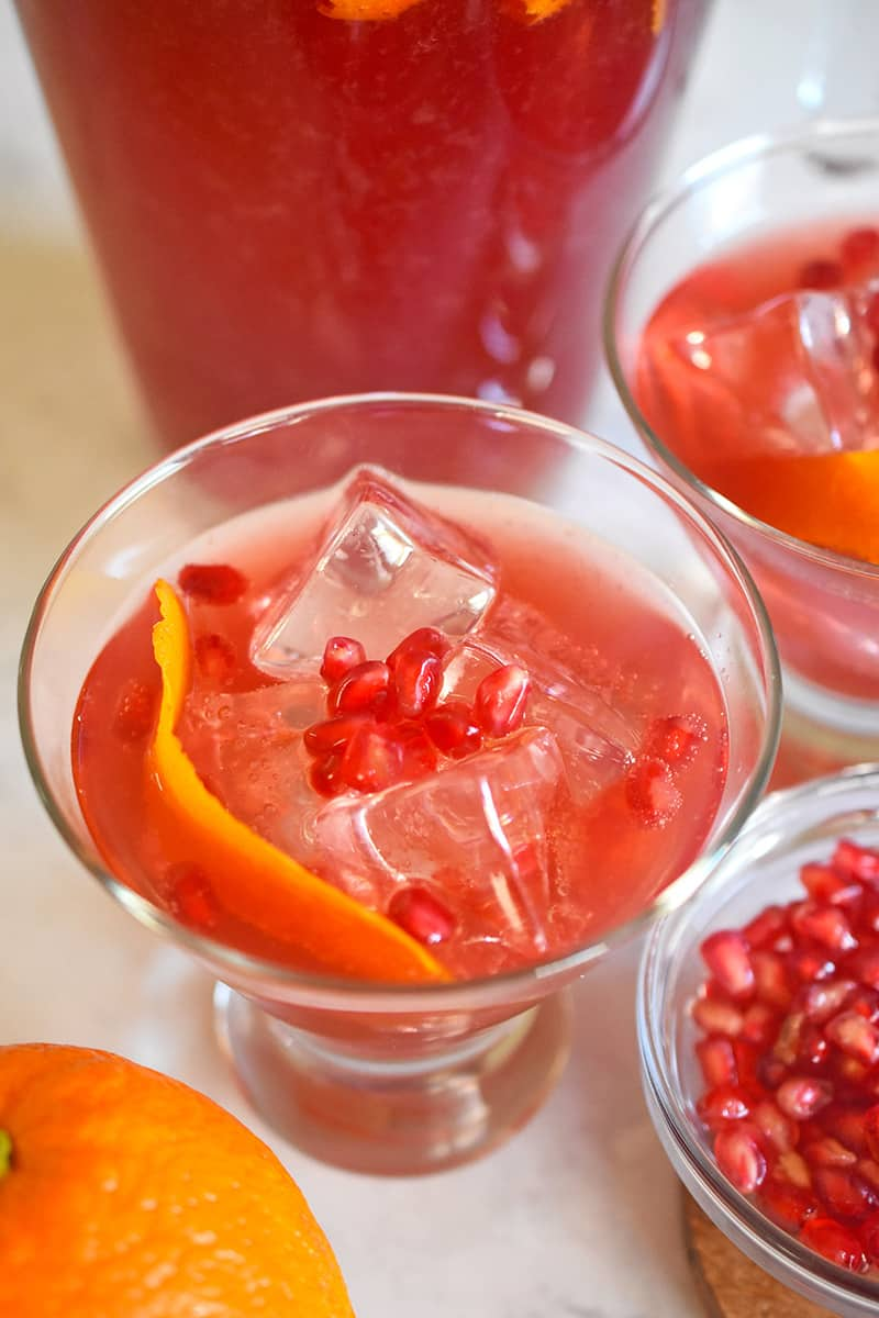 Pomegranate Pics Pomegranate Orange Ginger Mocktail