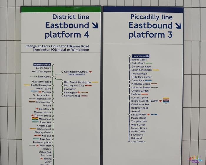 como funciona o metrô de londres