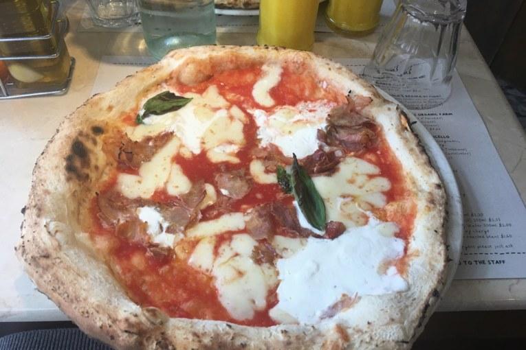 Pizza Boa e Barata em Londres : Franco Manca