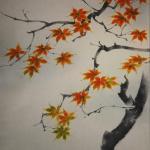 0117 Autumn Leaves Painting / Keiji Yamazaki 004