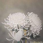 0114 Chrysanthemum Painting / Kiyoyasu Morishima 004