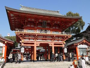 Ikuta-jinja Shrine