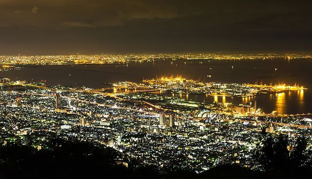 The Night View of Kobe
