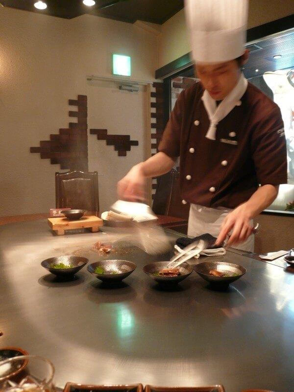 Biftec Kawamura Kobe Beef restaurant
