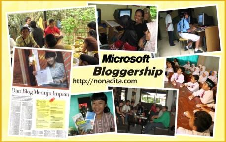 Microsoft Bloggership 2009 - Nonadita
