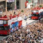 リオオリンピックパレードの交通規制の時間やコースは?