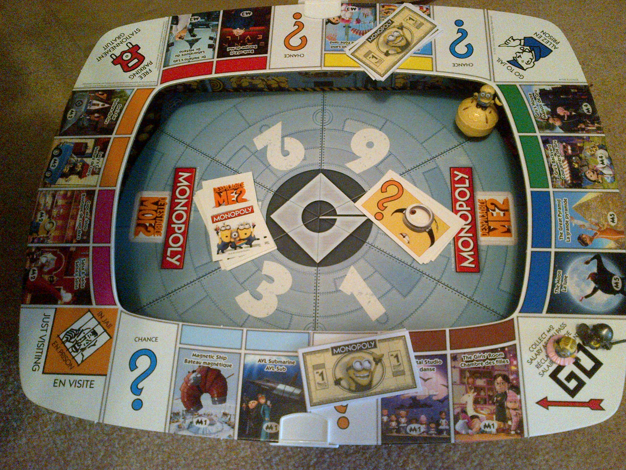 Review Minion Monopoly From Hasbro Non Mom S Blog