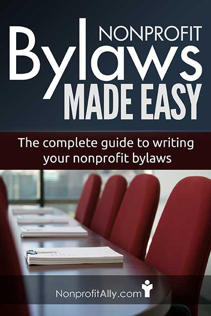 Write your Nonprofit Bylaws - Sample Bylaws Nonprofit Ally - ngo bylaws template