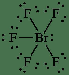 brf6 lewis dot diagram