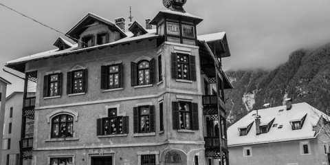 Villa Posta, casa privata del dottor Mutschlechner.