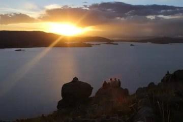 Lago Titicaca al Tramonto-1