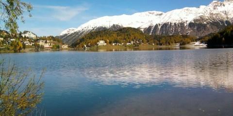 Il lago di St. Moritz