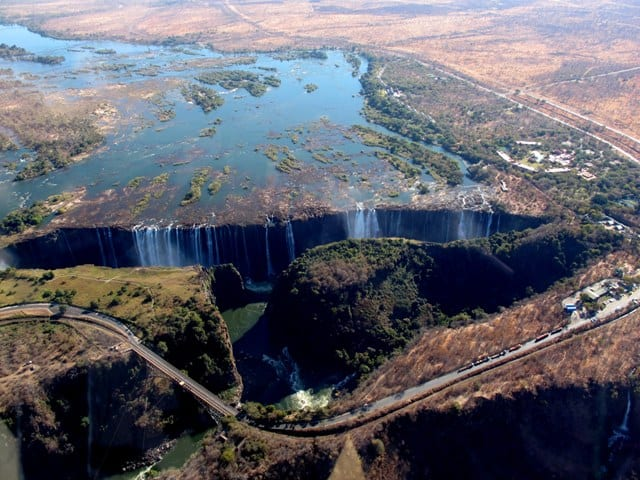Cascate Vittoria - Zambia e Zimbabwe