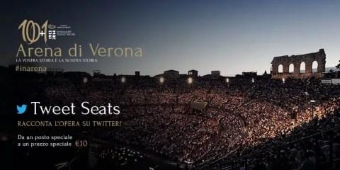 Tweet Seats Arena di Verona