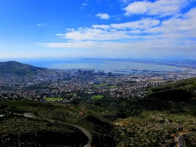 Table Mountain - Città del Capo, Sudafrica
