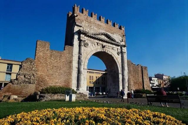 Wellness Valley-Romagna Benessere - Rimini, Arco d_Augusto