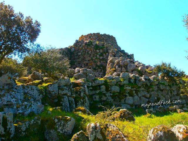 Nuraghe Arrubiu - Sardegna, Italia