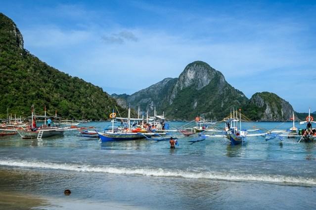 Spiaggia El Nido, Filippine