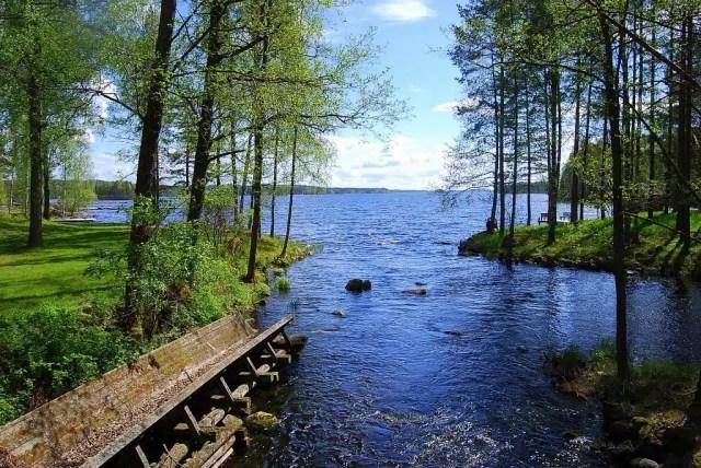 Lago Saimaa - FInlandia
