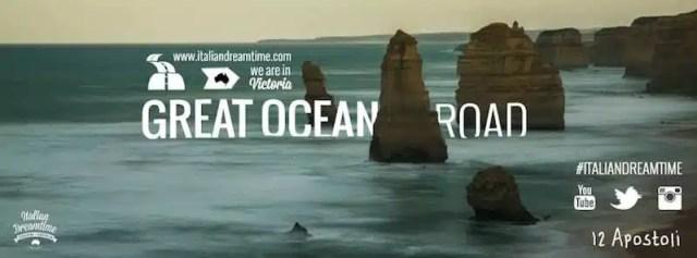 Italian Dreamtime - Ocean Great Road, Australia