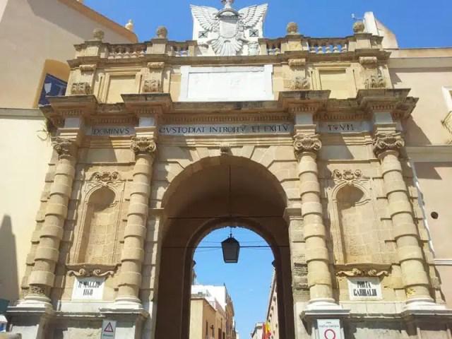 Porta Garibaldi - Marsala, Sicilia