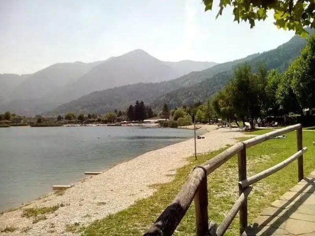 Viaggio in moto - Calceranica al Lago, Lago di Caldonazzo