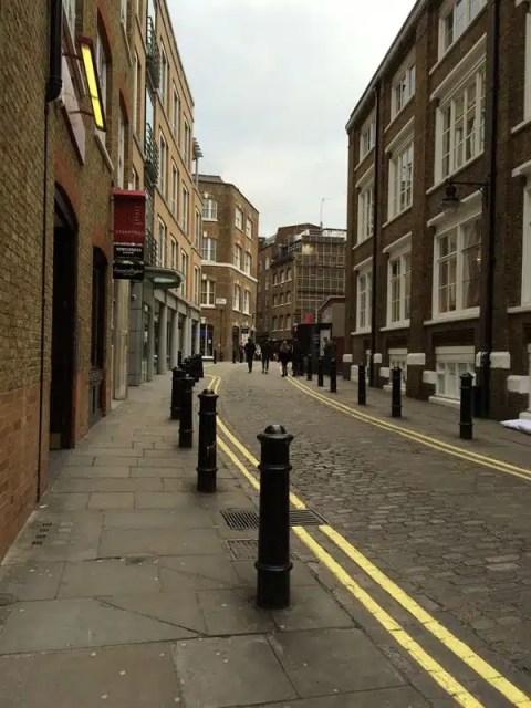 Backstreet Londra, UK