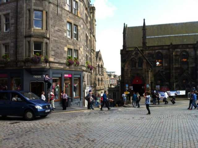 Royal Mile - Edimburgo, Scozia
