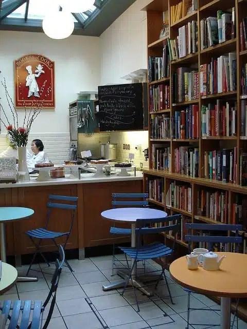 Books for Cooks - Notting Hil, Londra, UK