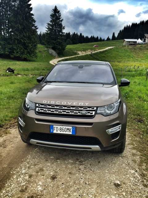 Land Rover Discovery Sport Family Fuori Strada