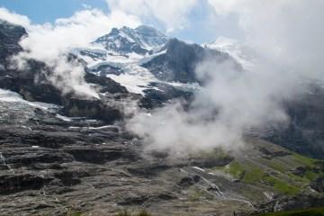 nebbia su Jungfrau