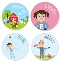 Personalized Plates for Kids - NON-TOY GIFTS