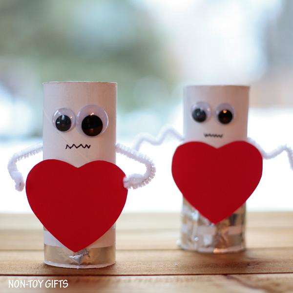 Heart Robot - Valentine Craft for Kids