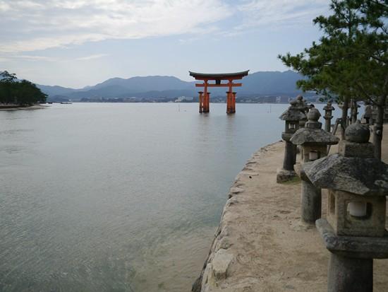torii miyajima japon