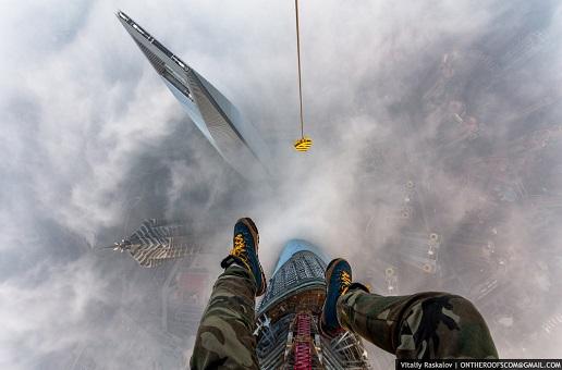 Escalade tour Shanghai Russe