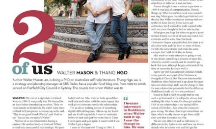 The 2 of Us, Walter Mason and Thang Ngo, Good Weekend, Sydney Morning Herald, The Age