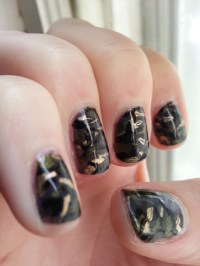 September Nail Art Challenge: Camo | Nood Mood