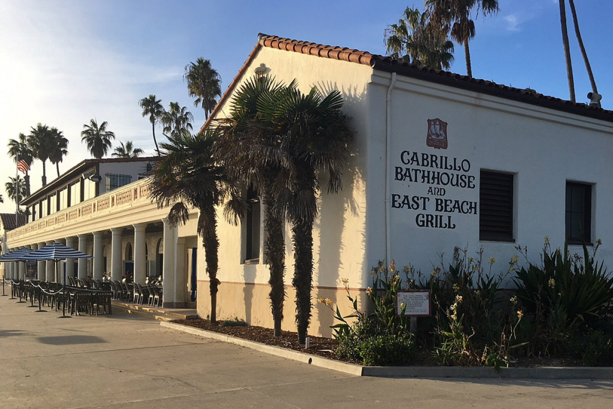 Cabrio Pavillon Santa Barbara Awards 16 7m Construction Contract For Cabrillo