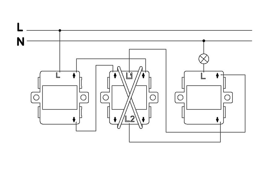 110v light switch wiring diagram