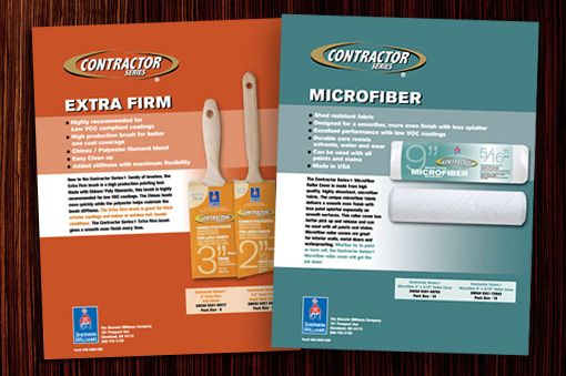 Contractor Series Sell Sheets