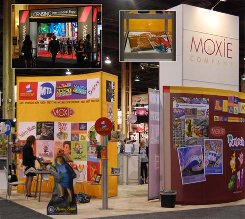 Nora Rep at Licensing Show in Las Vegas 2010