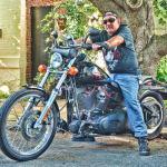 Al Chernoff On His Harley