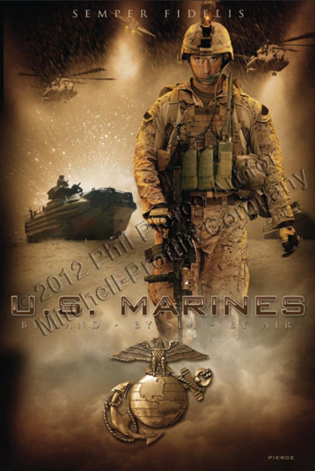 Hd Knife Wallpaper Us Marines Full Color Poster North Bay Listings