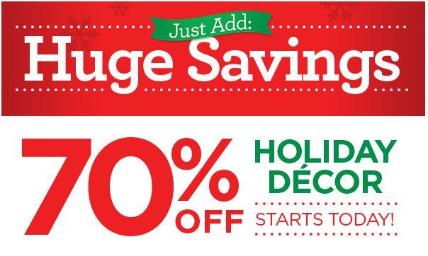 Christmas Decor Sale - Christmas Lights Card and Decore - christmas decor on sale